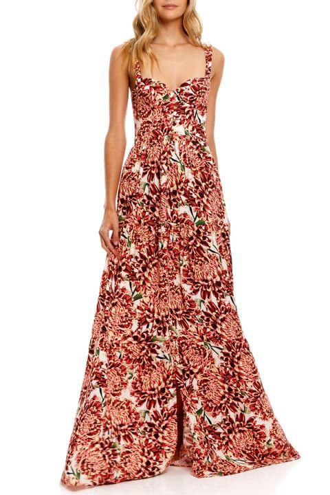 dunna vestido con varilla
